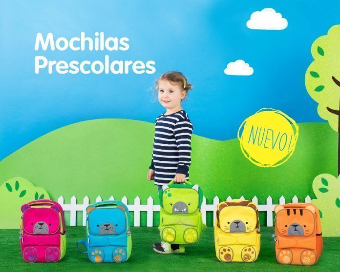 mochilas preescolares trunki backpack