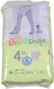 panales dia baby smile