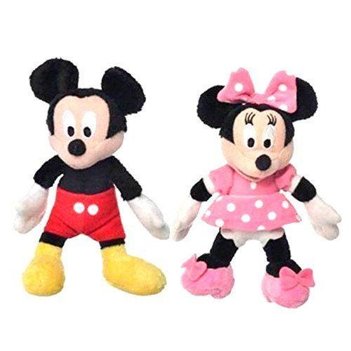 peluches mickey mouse y minnie mouse